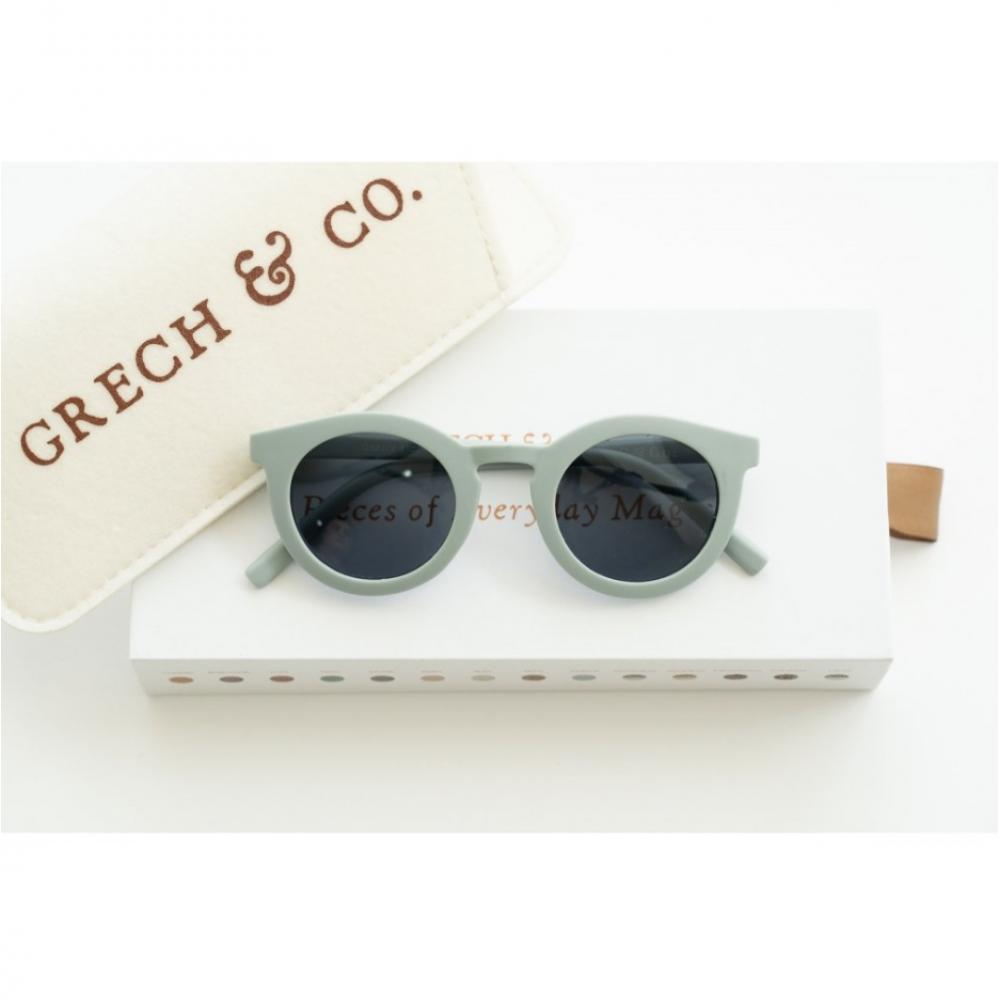 Adult Recycled Plastic Sunglasses Light Blue 14.5cm x 15cm