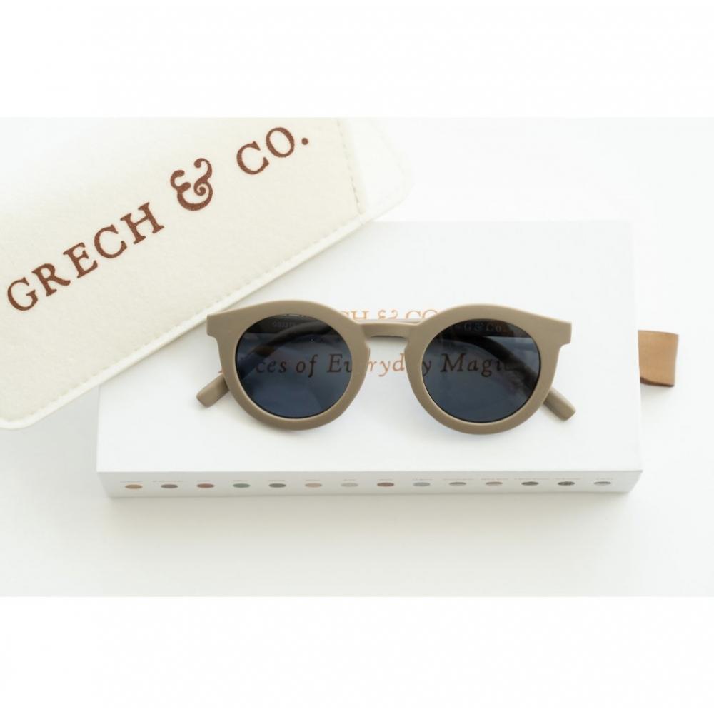 Adult Recycled Plastic Sunglasses Stone 14.5cm x 15cm