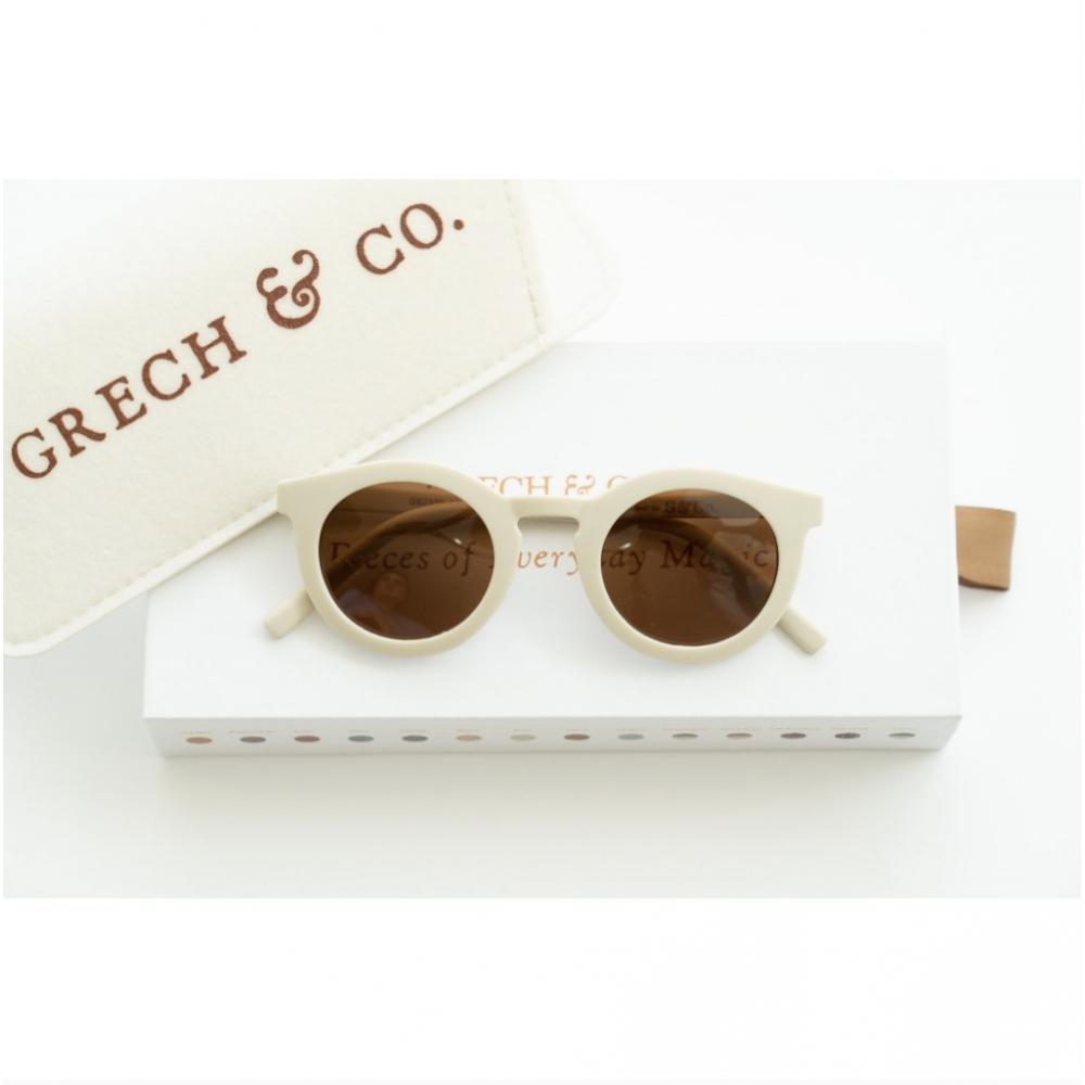 Adult Recycled Plastic Sunglasses Buff 14.5cm x15cm