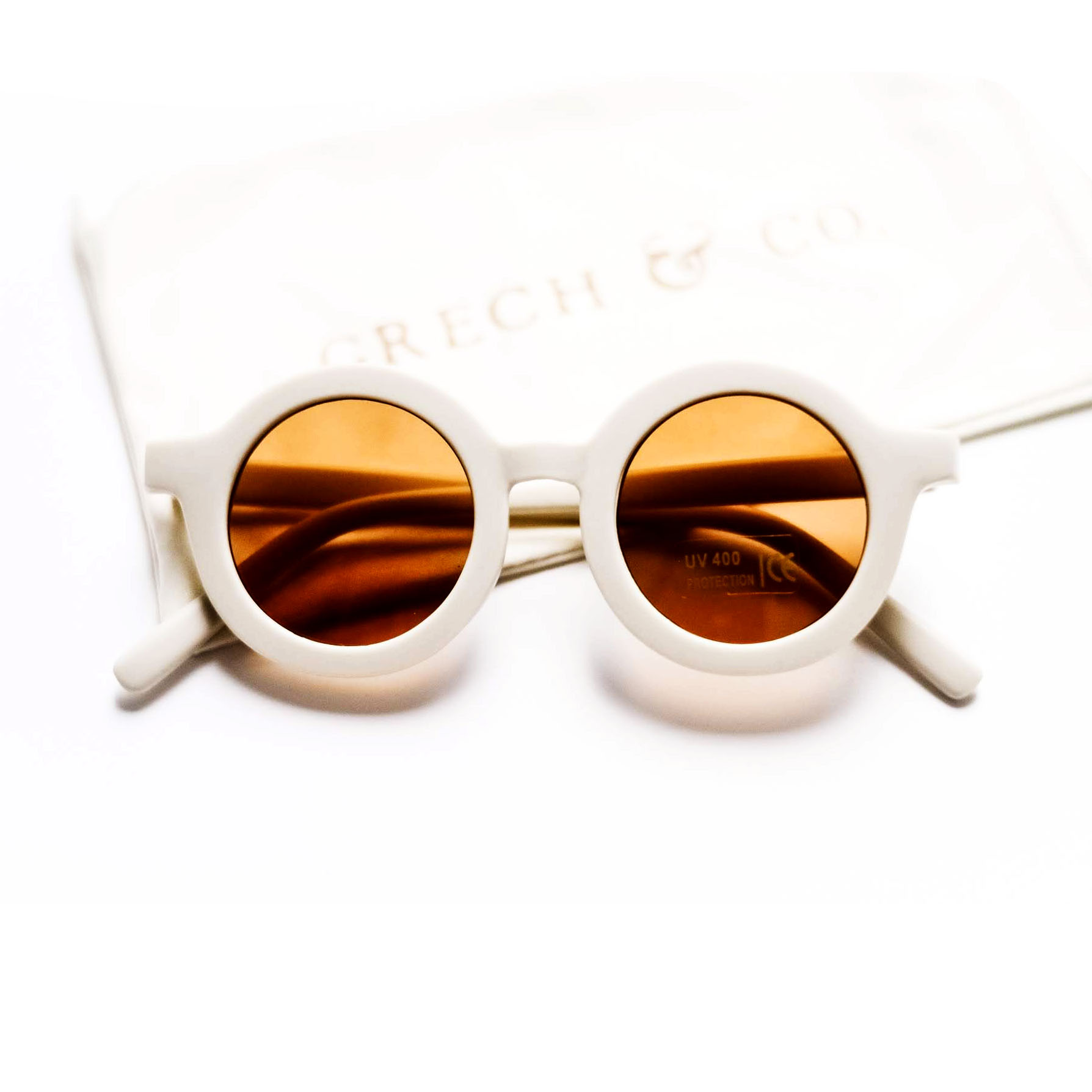 Sunglasses Made of Recycled Materials White