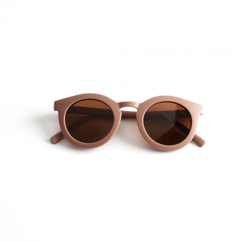 Adult Recycled Plastic Sunglasses Burlwood 14.5cm x 15cm