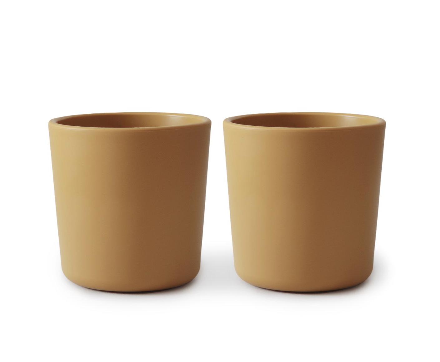 Set 2 Cups Mustard