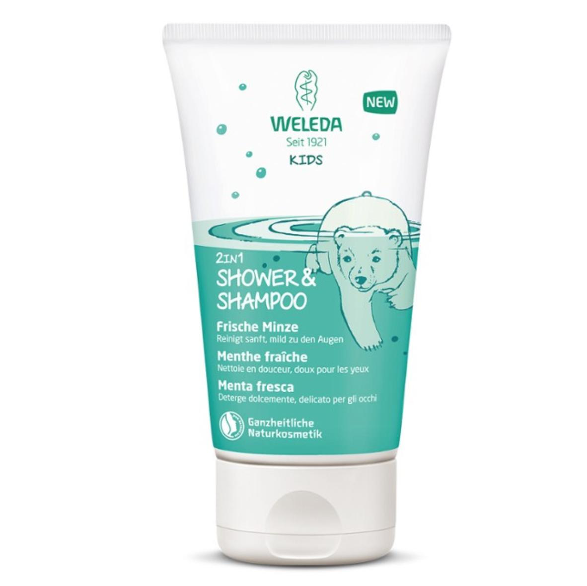 Baby  Shampoo & Shower Gel 2 in 1 Cool Mint 150 ml