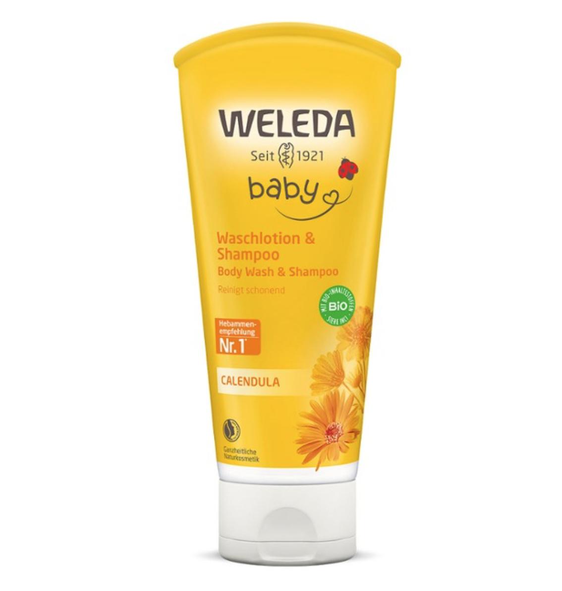 Baby Calendula Shampoo And Shower Gel 200 ml Weleda