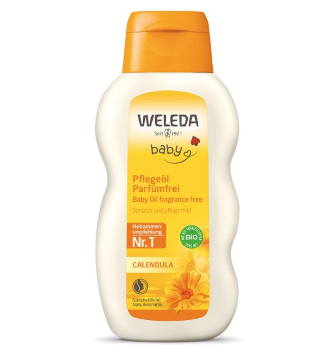 Calendula Baby Oil 200ml Weleda