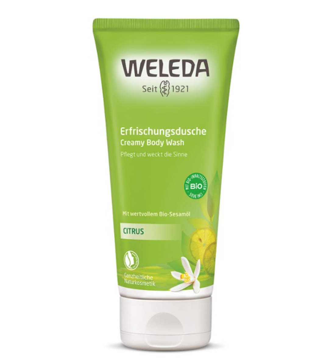 Creamy Body Wash Citrus 200ml Weleda
