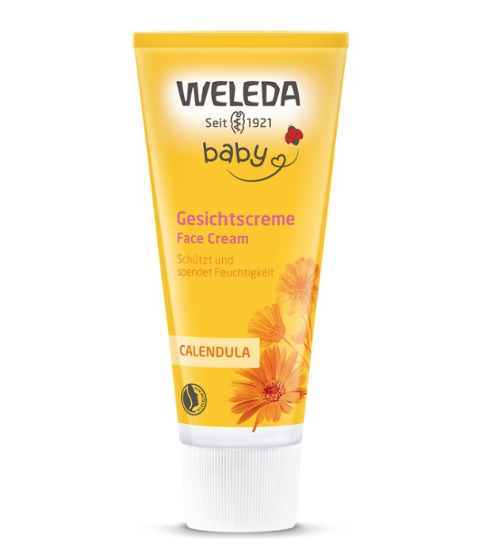 Baby Face Cream Calendula 50ml Weleda