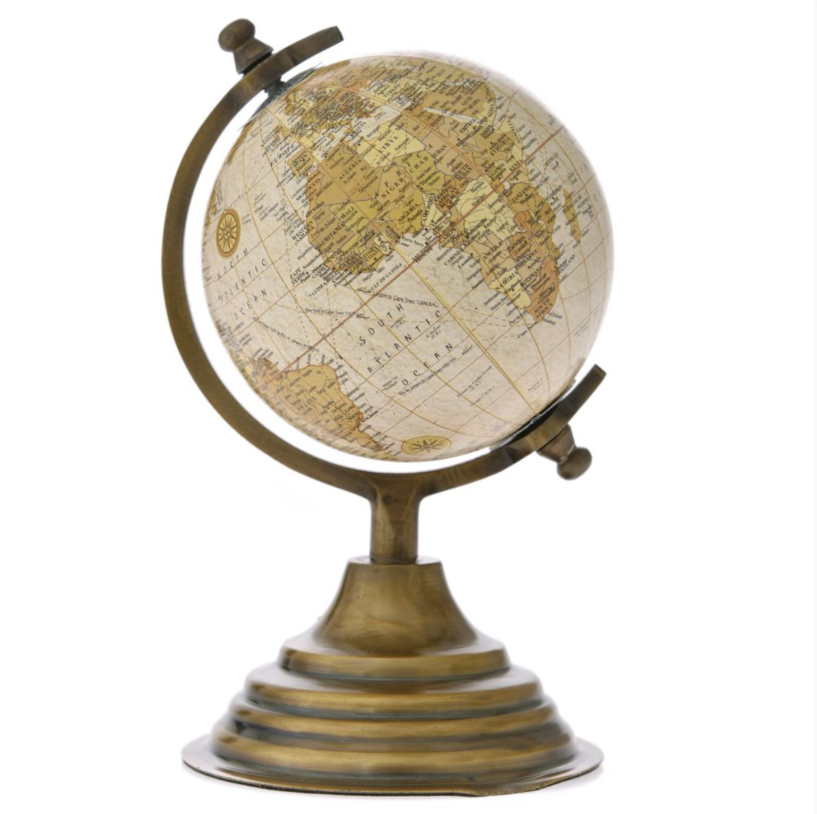 Globe Gold 10x18 cm