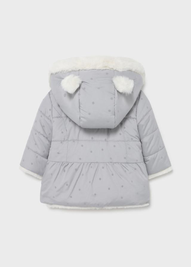 Ecofriends Reversible Faux Fur Coat Newborn girl
