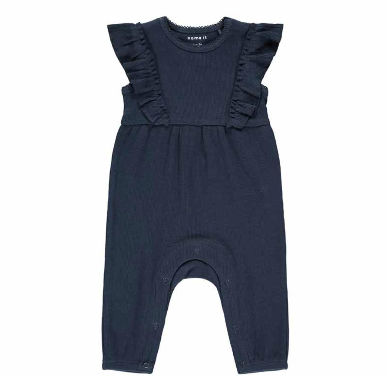 Baby Bodysuit Dark Sapphire