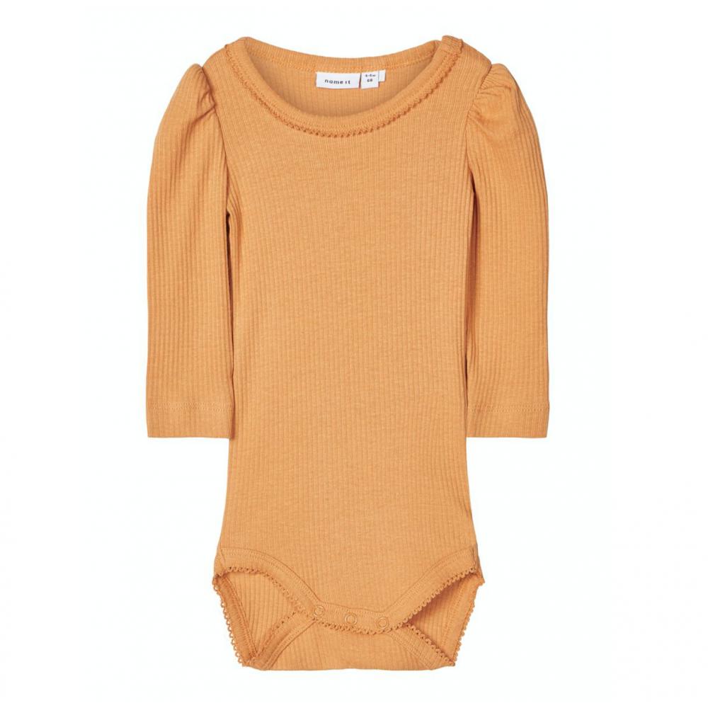 Baby Bodysuit Mustard