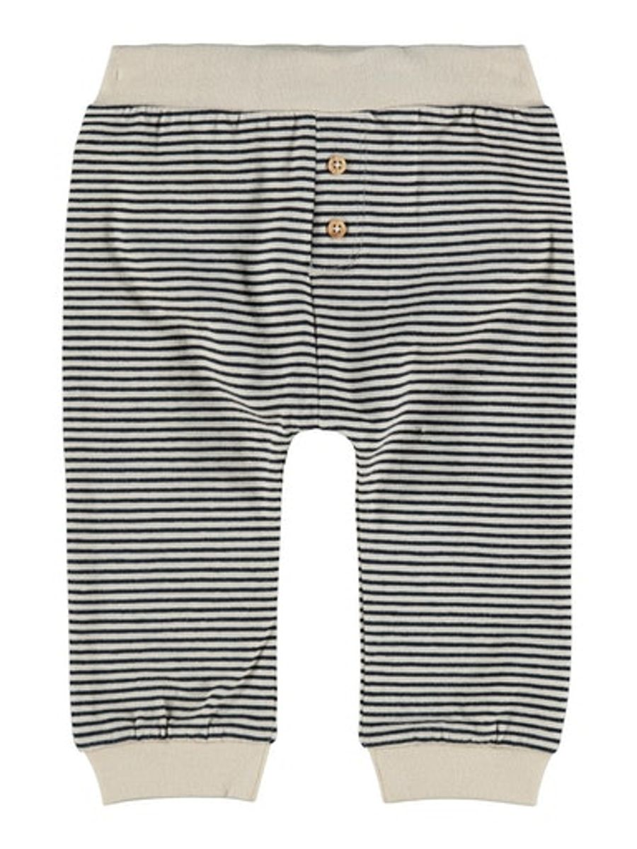 Baby Blue Pants Striped