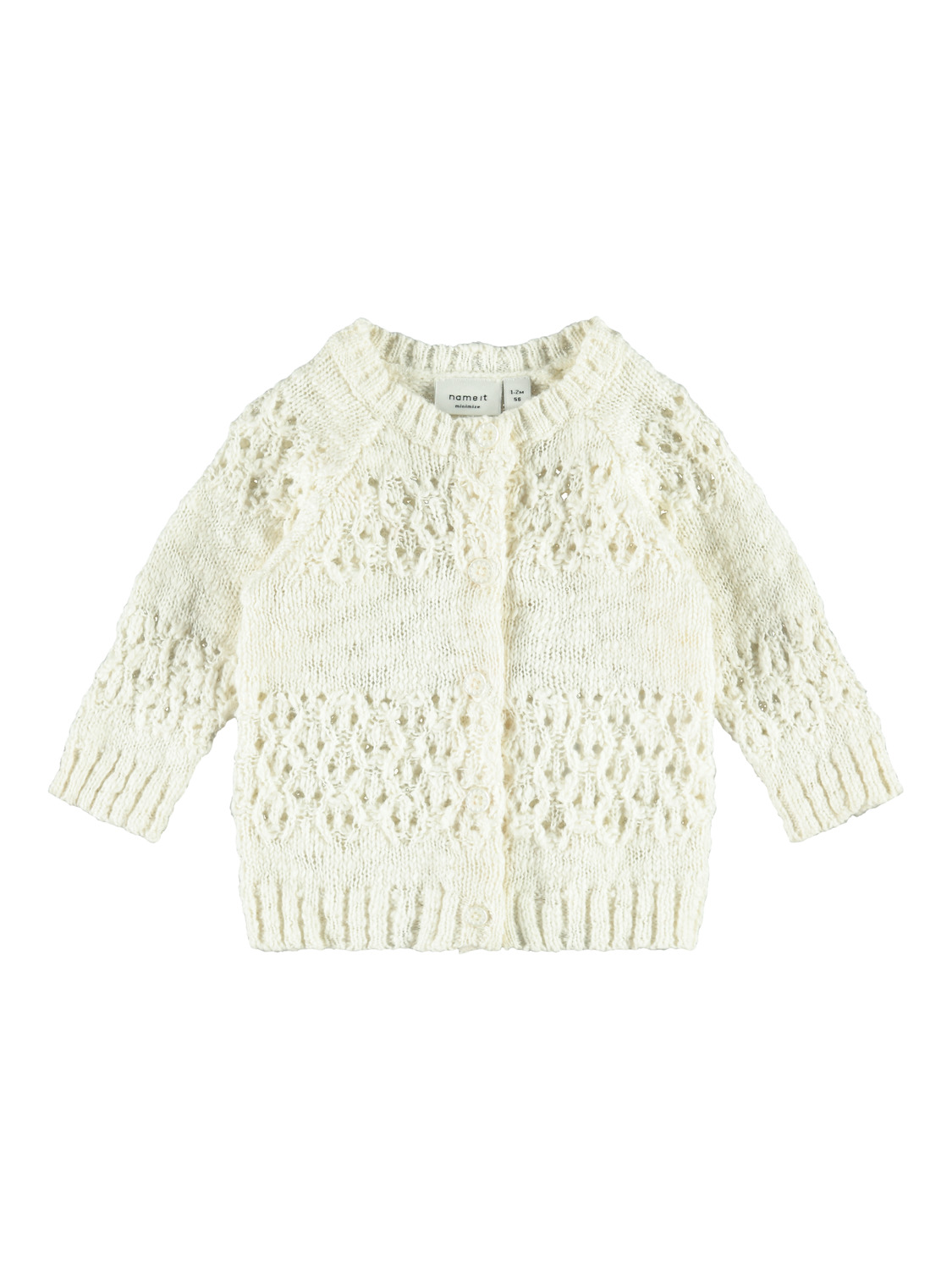 Baby Knitted Cardigan Made Of Organic Cotton