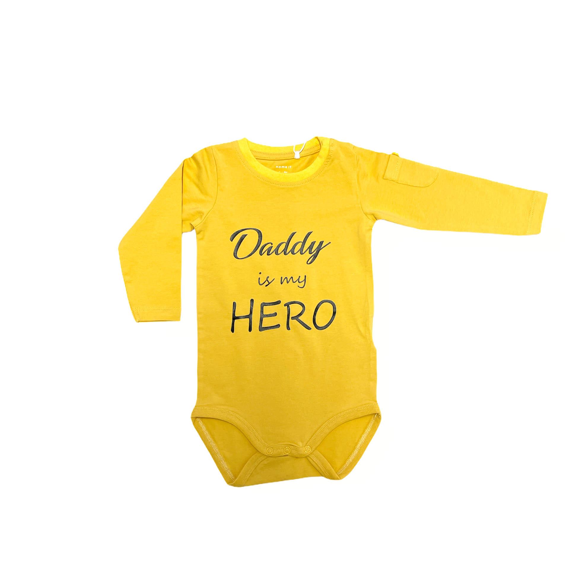 Baby Body Daddy Is My Hero Mustard