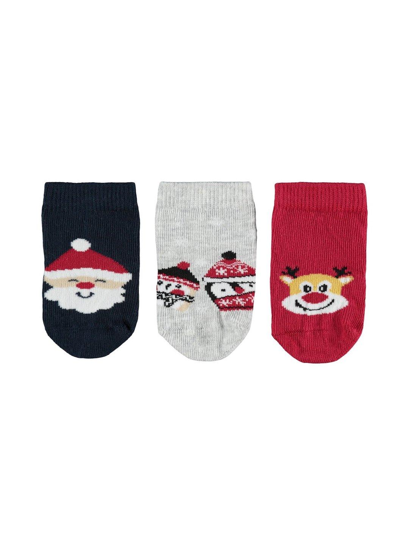 Christmas 3P Socks