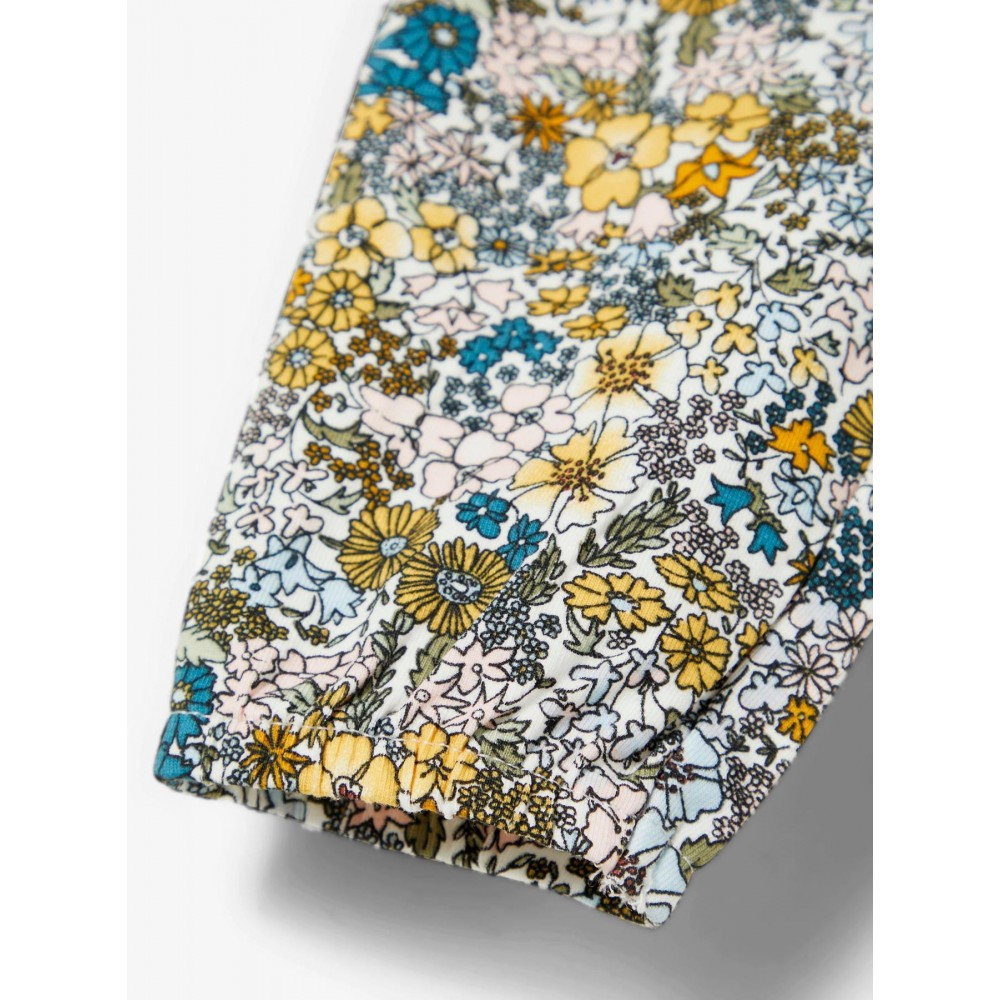 Baby Pant Floral Snow White